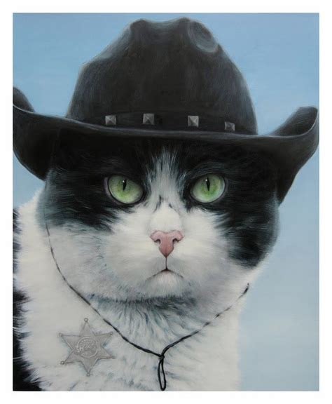 Buy sad cat cowboy hat: Pin em Cute 'n' Funny Animals!