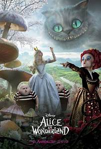 Alice in Wonderland Movie Poster Desktop Wallpaper