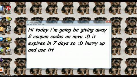 56270 Imvu Coupons by Imvu Coupon Codes D