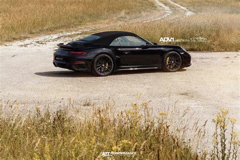 black porsche 911 turbo black porsche 911 turbo s cabrio adv5 2 m v sl concave