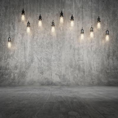 Lights Digital Backdrop by 8x8ft 2 5x2 5m Fabric Grey Concrete Wall Photography