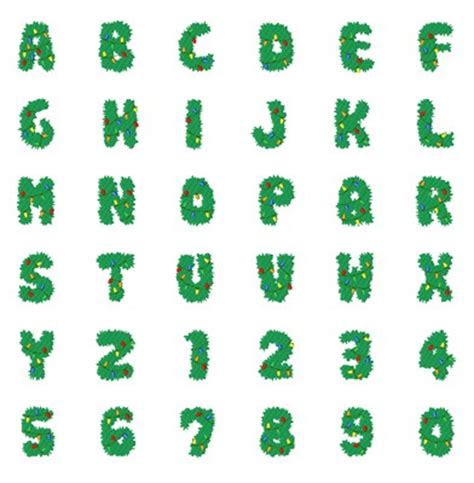 christmas lights font by hopscotch home format fonts on