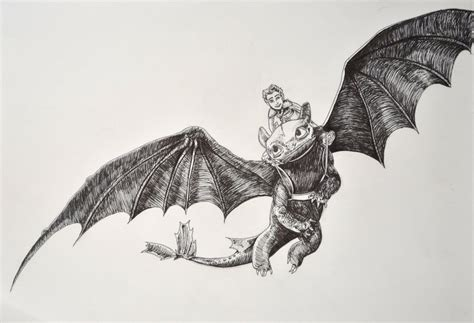 Toothless And Hiccup By Pahmii On Deviantart