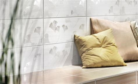 Fliesen Mit Dekor by Fliesen Dekor Beige 20x50 Kerateam Lima Y Lim1301 Ginkgo