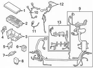 Lincoln Mkc Engine Wiring Harness  Engine Compartment  2 3