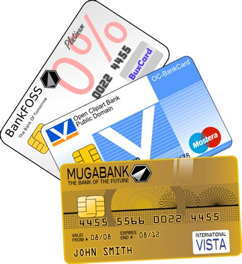 Credit Card Clipart Creditcards Clip At Clker Vector Clip