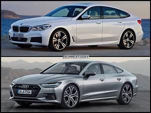 Audi A7 Coupe : photo comparison 2018 audi a7 vs bmw 6 series gran turismo ~ Medecine-chirurgie-esthetiques.com Avis de Voitures
