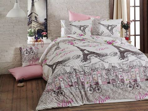 Paris Themed Duvet Covers