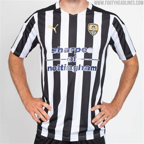Puma Notts County 20-21 Home Kit Released - Footy Headlines