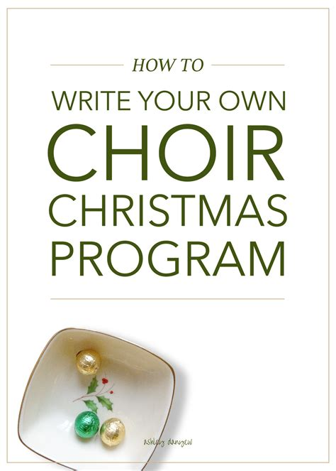 how to write a classic christmas song and why it s harder than how to write your own choir christmas program danyew
