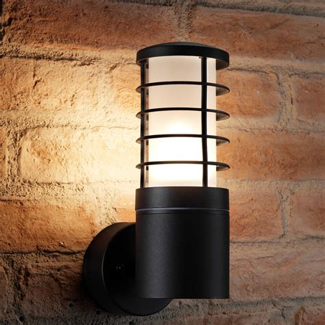 auraglow  outdoor garden wall light hartwell