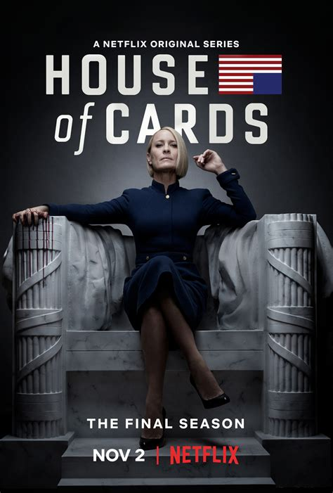 House of Cards Season 6 Poster: Robin Wright Takes Center ...