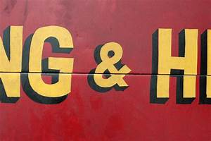 train to always vernacular typography With hand painted vehicle lettering
