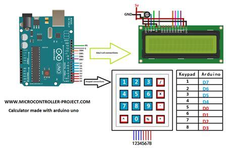 calculator  arduino microcontroller projects