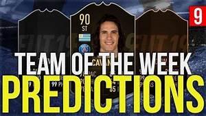 FIFA 19 TOTW 9 Predictions | FUT 19 Team of the Week 9 ...