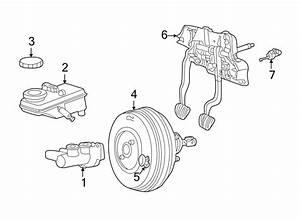 2004 Ford Thunderbird Brake Master Cylinder  Ivd  System
