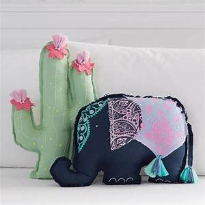 tassel shaped pillows pbteen With cute decorative bed pillows