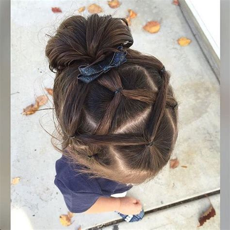 elastic hairstyles hairstyles  toddlers pinterest style girls  hair style