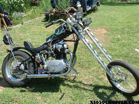 Old-school 650 Chopper