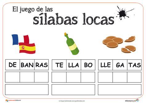Sílabas  El Rincón De Aprender  Página 2