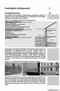 Feuchtigkeit Im Mauerwerk : mauerwerkstrockenlegung medienservice architektur und ~ Michelbontemps.com Haus und Dekorationen