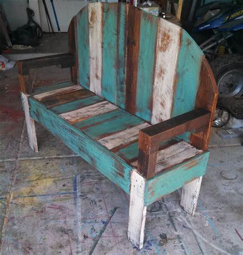 diy rustic pallet bench pallet furniture plans