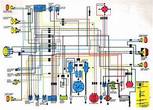 Honda Cb Cl350 K4 Wiring Diagram  59377