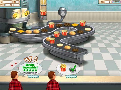 jeux de restaurant de cuisine jeu burger shop à télécharger en français gratuit jouer