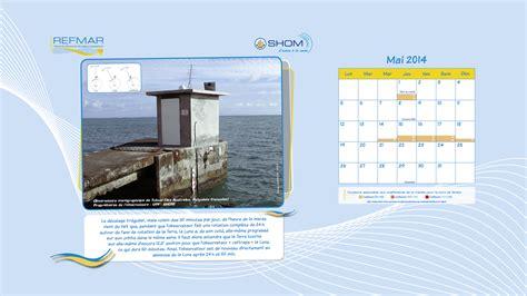 papier peint bureau ordinateur calendrier refmar 2014 refmar