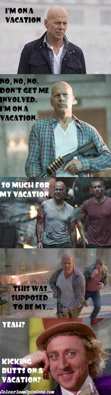 Die Hard Meme - a good day to die hard 2013 movie review colourlessopinions com