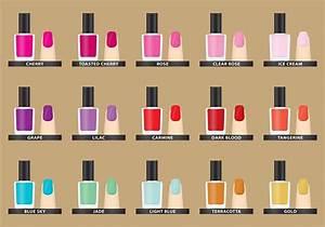Vector Nail Polish Colors - Download Free Vector Art ...