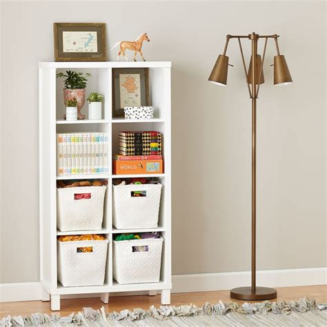 Cube Bookcase White by Eight Cube Bookcase White The Land Of Nod