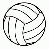 Volleyball Coloring Pages Ball Volley Printable Books Popular Scrap Diameter Single Want sketch template