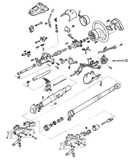 diagram 1990 chevy steering column diagram
