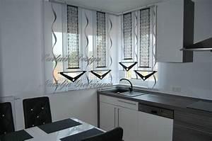 Gardinen Für Küche Esszimmer : grauer schiebevorhang mit dekonetzen f r die k che gardinen deko ~ Sanjose-hotels-ca.com Haus und Dekorationen