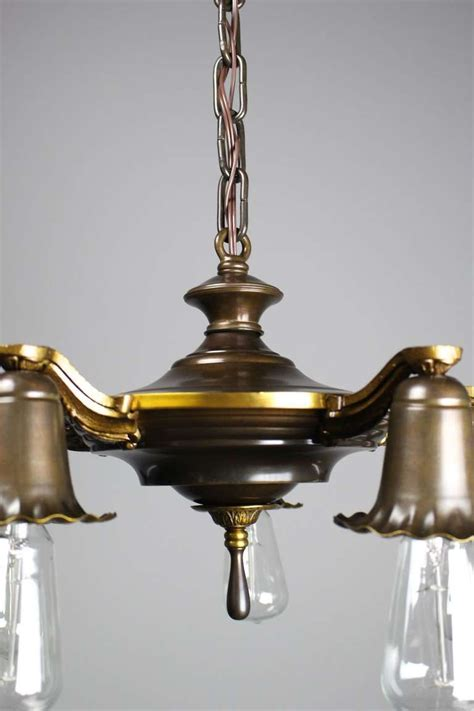 bare bulb edwardian quot daffodil quot fixture for sale at 1stdibs