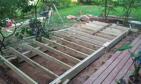 deck joists and beams pictures to pin on pinterest pinsdaddy