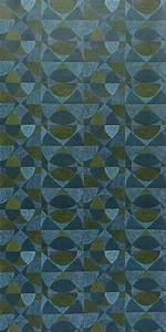 Tapete Geometrische Muster : original 70er jahre tapete mit geometrischem muster von der d nischen tapetenfabrik fiona 70er ~ Frokenaadalensverden.com Haus und Dekorationen