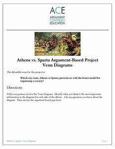 Athens Vs  Sparta  An Argument
