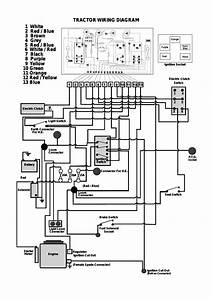 Tractor Wiring Diagram  U2013 Countax Garden Tractor User Manual  Page 23
