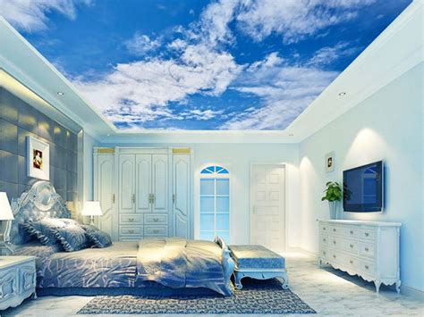 3d Hd Wallpapers Bedroom by Hd Blue Sky And White Clouds Photo Wallpaper 3d Sky