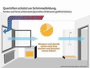 Luftfeuchtigkeit Im Haus : so heizen und l ften sie richtig energie fachberater ~ Lizthompson.info Haus und Dekorationen