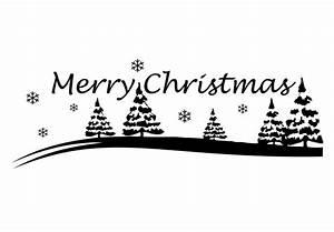 Merry Xmas Schriftzug : wandtattoo frohe weihnachten winterlandschaft als festdekoration wall ~ Buech-reservation.com Haus und Dekorationen