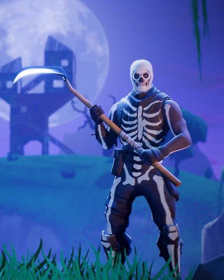buy fortnite epic gear skull trooper