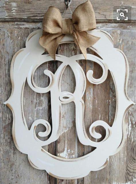 pin  amanda long  ideas   door hanger party monogram door decor door decorations