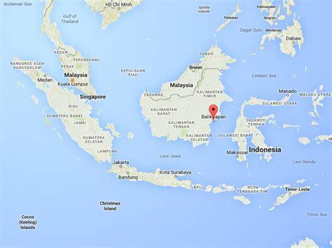balikpapan map global journalist