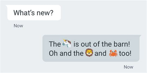 android emoji update new emoji are finally being added to android next week
