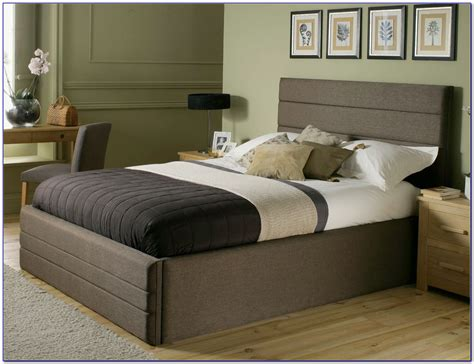 bed headboards king size luxury king size bed frame with headboard and