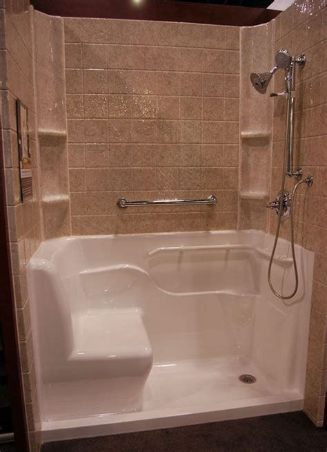 walk in shower tub for seniors 23 bathroom designs with handicap showers messagenote