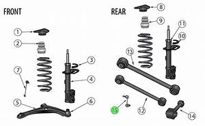 Jeep Renegade Rear Sway Bar Link